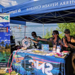 Sierra Nevada University 招生 Recruiting Booth, summer at Lake Tahoe