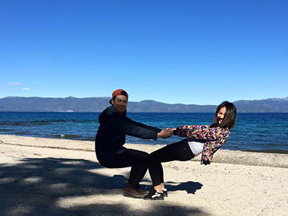 Balancing by the beach, international students juggle classwork and recreation time at SNU Tahoe