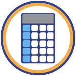 icon of calculator
